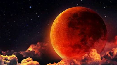 28 Juli 2018 Puncak Gerhana Bulan Total (Blood Moon)