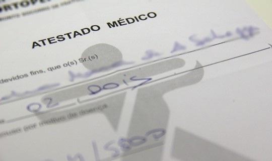 Atestado médico: saiba o perigo da falsificação!