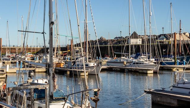 Photo of sunshine at Maryport Marina on Monday