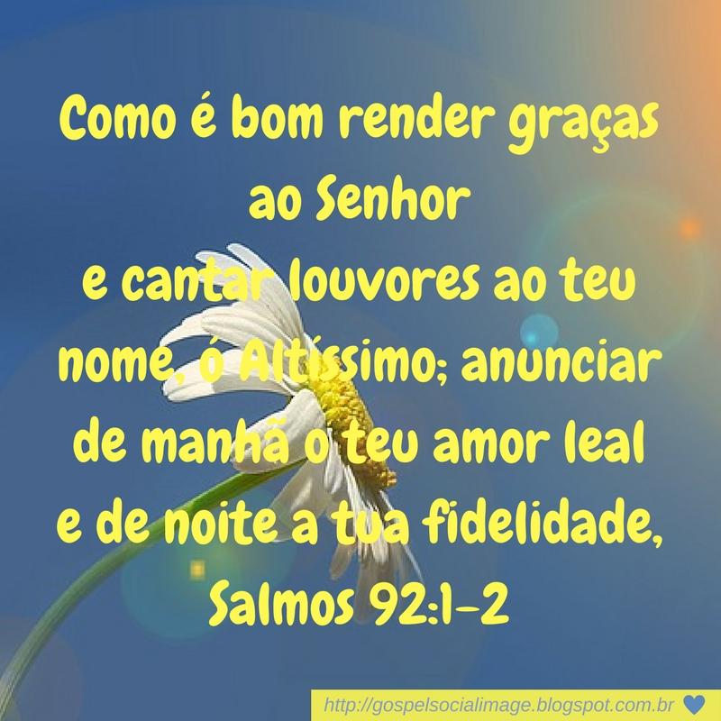 Extremamente Versículo bíblico de agradecimento a Deus - Imagens Bíblicas (̶◉͛  II71