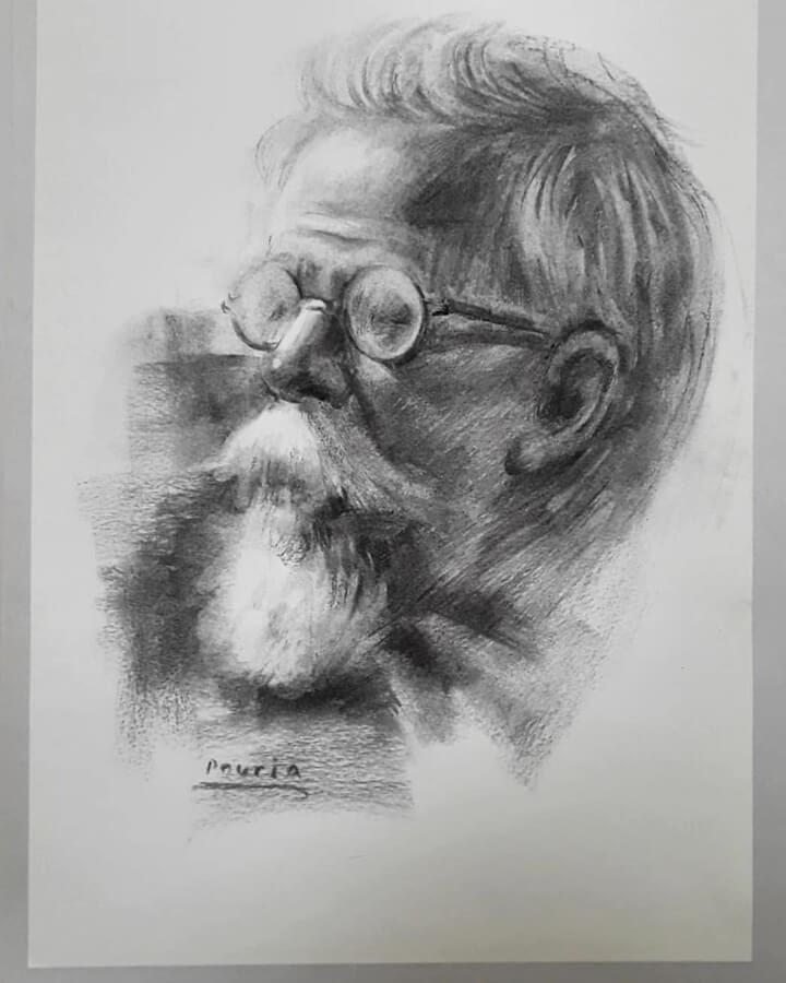 06-Portrait Drawings Pourianahaei-www-designstack-co