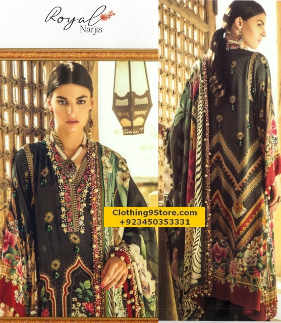 Unstitched Silk Suits from Elan