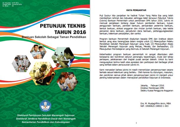 Juknis Bantuan Sekolah Sebagai Taman Pendidikan