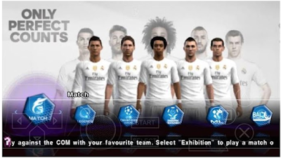 Download PES 2016 ISO Update Patch PPSSPP Android