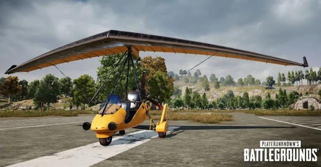 PUBG Savaş Alanlarına Hafif Uçaklar Ekliyor
