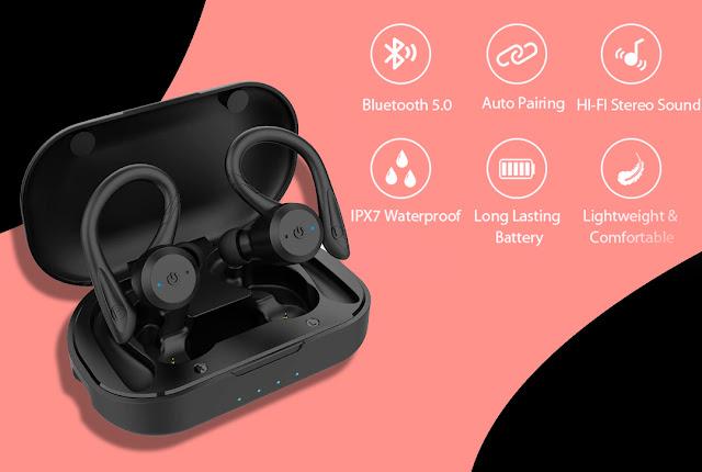 Best and Cheap ear hook headset in 2021 - 5 Best Ear Hook Headphones In 2021 - Shukra Tech