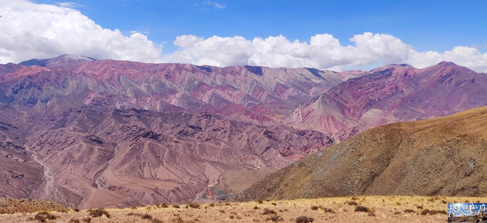 Argentine Argentina La montagne aux 14 couleurs