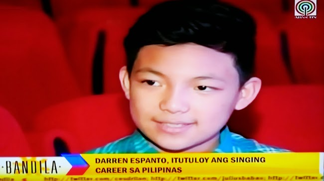 Now Confirmed: Darren Espanto Will Stay in the Philippines