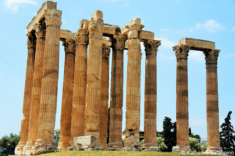 Temple of Olympian Zeus One Day in Athens