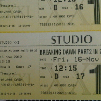 [REVIEW] Breaking Dawn Part 2 - The End of Story,The Twisted Ending