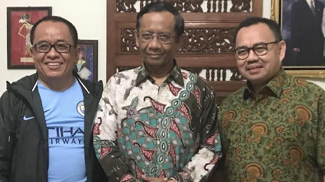 Mahfud MD Bantah Beda Pilihan Politik dengan Said Didu?