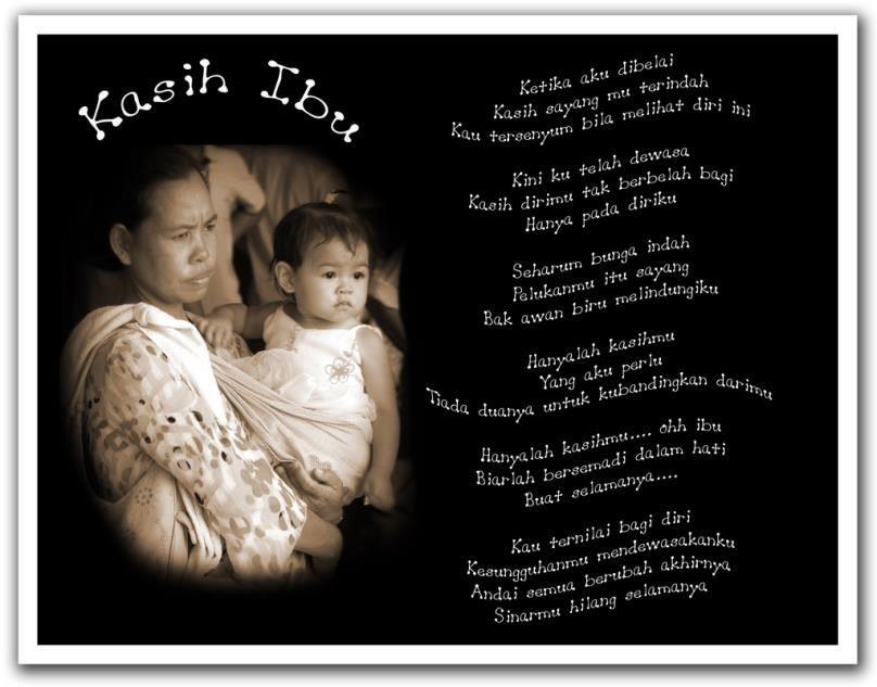 lagu kasih sayang ibu