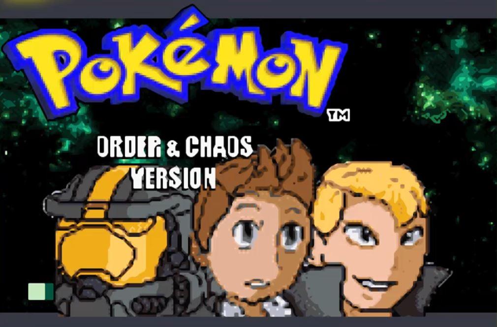 Pokemon Order and Chaos para GBA Imagen Portada