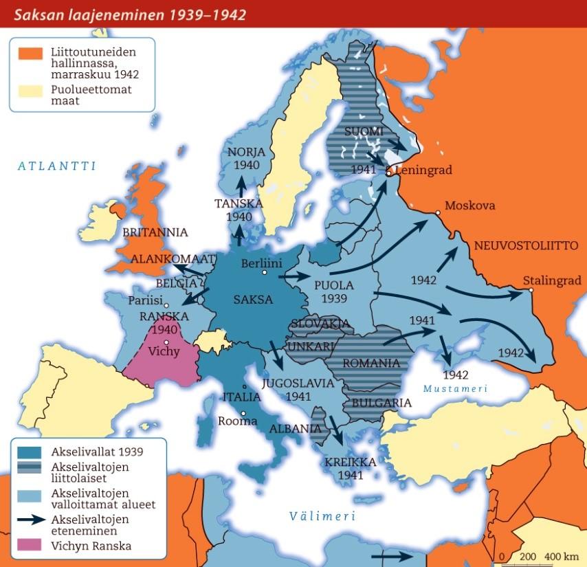 Mpkhistoria Toinen Maailmansota 1939 1945