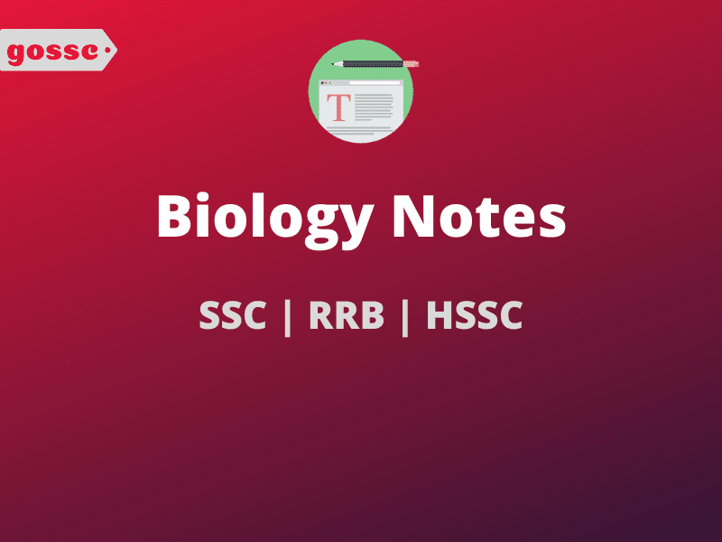 Biology Notes For SSC