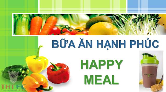 Hướng dẫn pha chế Happy Meal, vì 1 triệu bữa ăn hạnh phúc