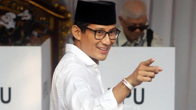 Namanya Diisukan Masuk dalam Daftar Menteri Kabinet Jokowi-Amin, Ini Tanggapan Sandi