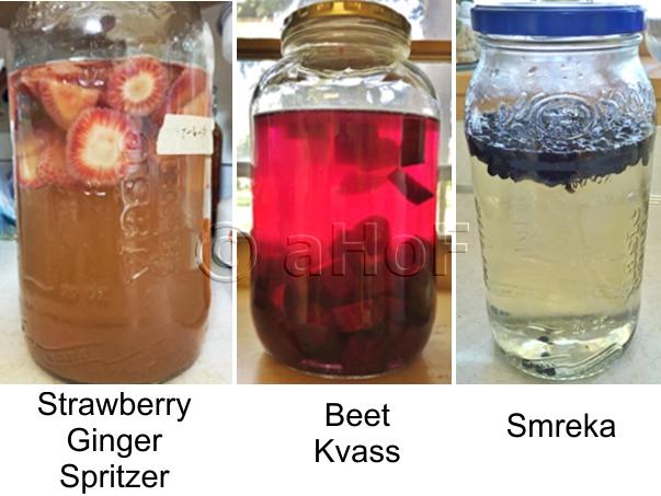 Three Fermenting Beverages