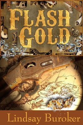 #ReadIndie Review: Flash Gold by Lindsay Buroker