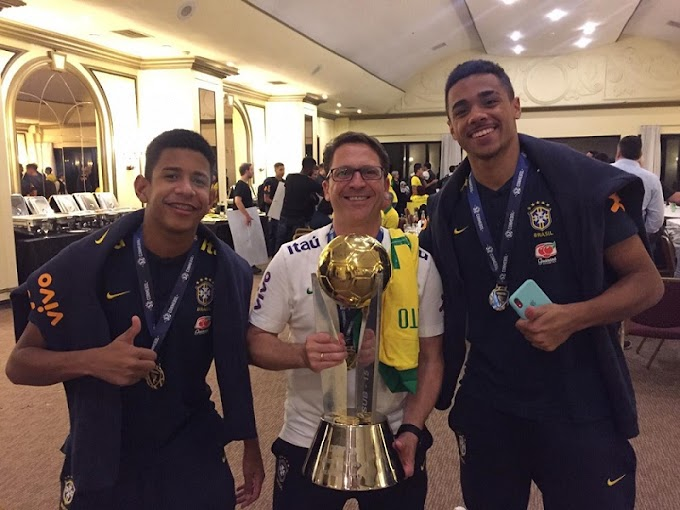 Crias do Galo conquistam Sul-Americano com Seleção Sub-15