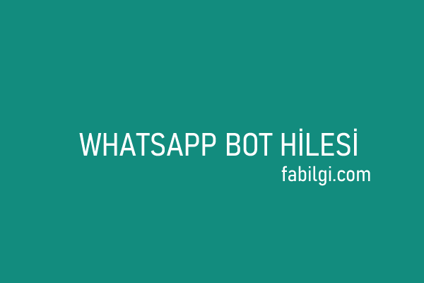 WhatsApp WhatsAsena Bot İndir Kurulum Grup Admin Hilesi 2021