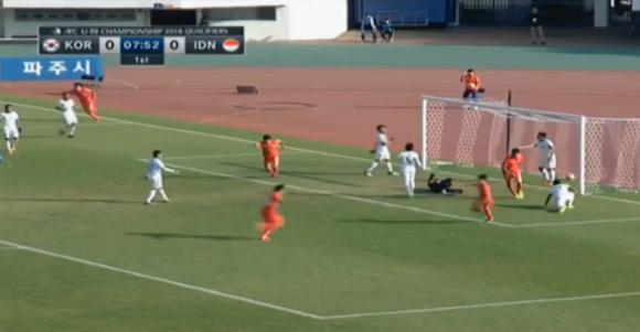 Highlights Kualifikasi Piala Asia U-19, Korsel Vs Indonesia 4-0