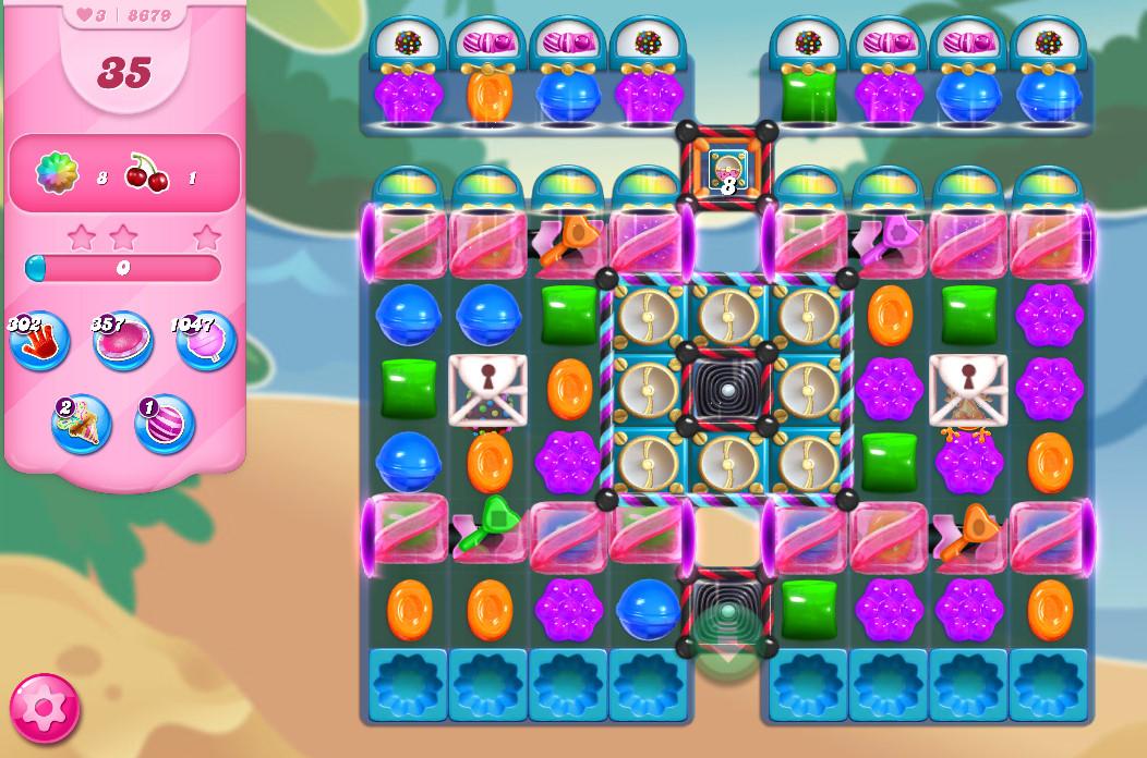 Candy Crush Saga level 8679