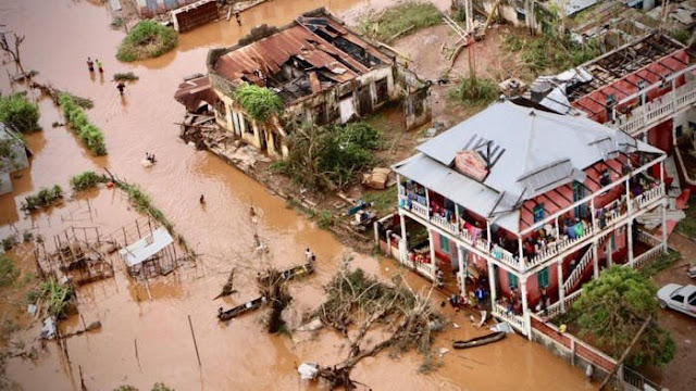 HEARTBREAKING Footage From Mozambique After Cyclone Idai Devastation