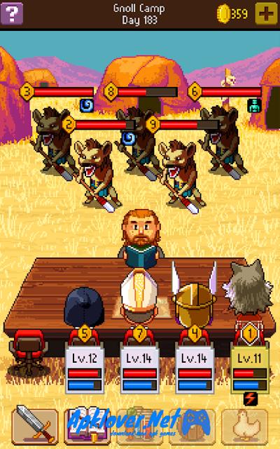 Knights of Pen & Paper 2 MOD APK