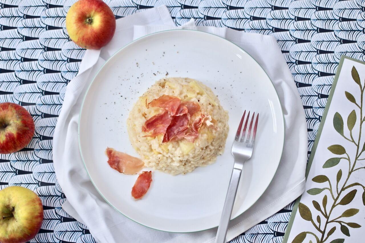 Apfel-Speck-Risotto Rezept