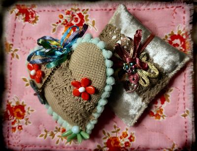sachets sewn and easy to make