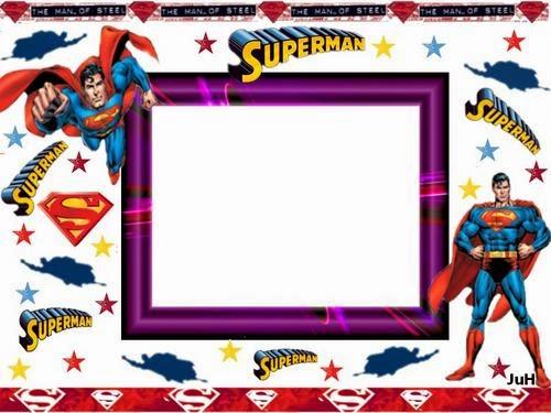 Superman Cómic: Imágenes y Tarjetas para Imprmir Gratis.