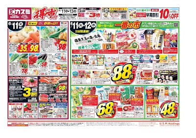 【PR】フードスクエア/越谷ツインシティ店のチラシ6月11日号