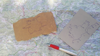 Carte routière IGN et GPS