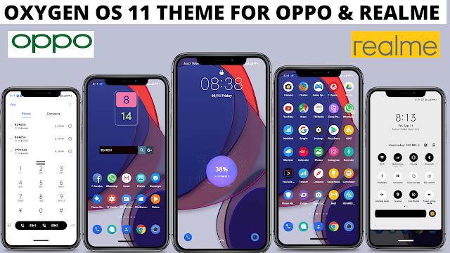 Chủ đề Oxygen OS 11 cho Oppo và Realme    chủ đề oppo    chủ đề realme   