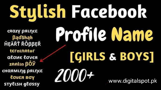 Facebook Stylish Name And Long Name And Other Cool Name Best Collection   PART-II
