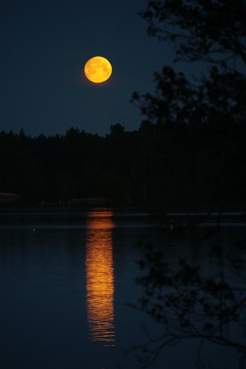 kuu, täysikuu, kuunsilta