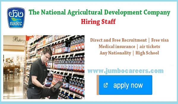UAE sales jobs for Indians, NADEC jobs openings in UAE,