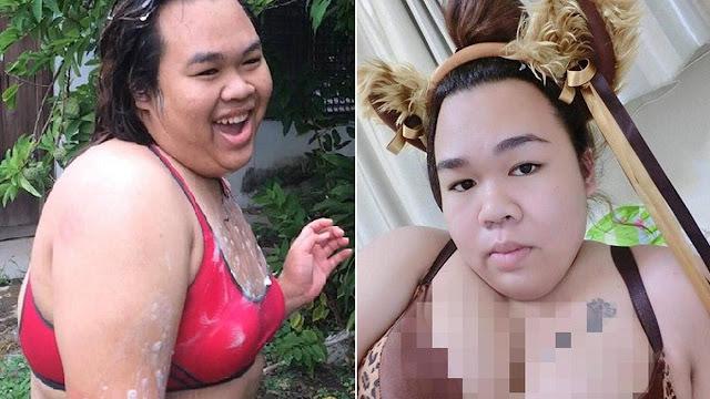 Bak 2 Orang Berbeda, Transformasi Drastis Wanita Seksi Bikin Pangling