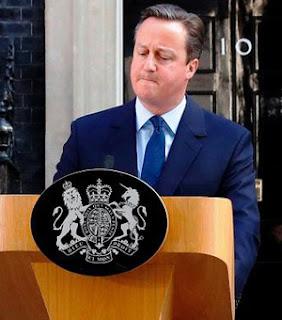 Accepts defeat - British Premier Cameron resigns