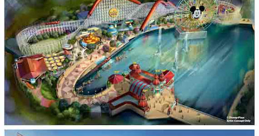 Pixar Pier to Bring New Incredicoaster and More to Disney California Adventure Park Summer 2018