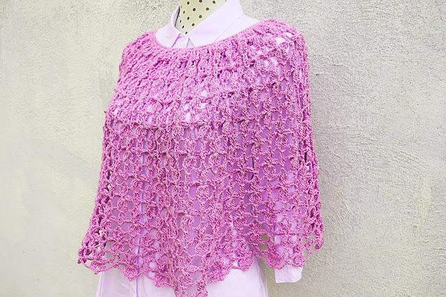 2 - Crochet Imagen Capa para mujer a crochet y ganchillo por Majovel crochet