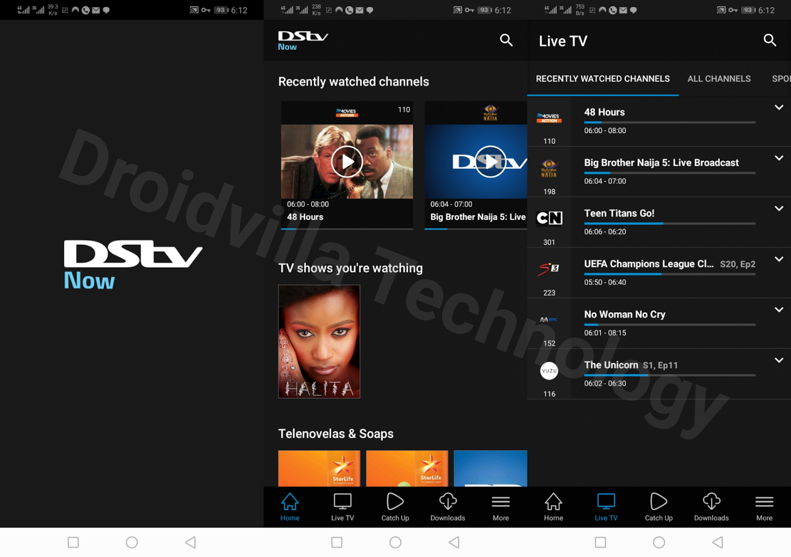 Dstv now app subscription