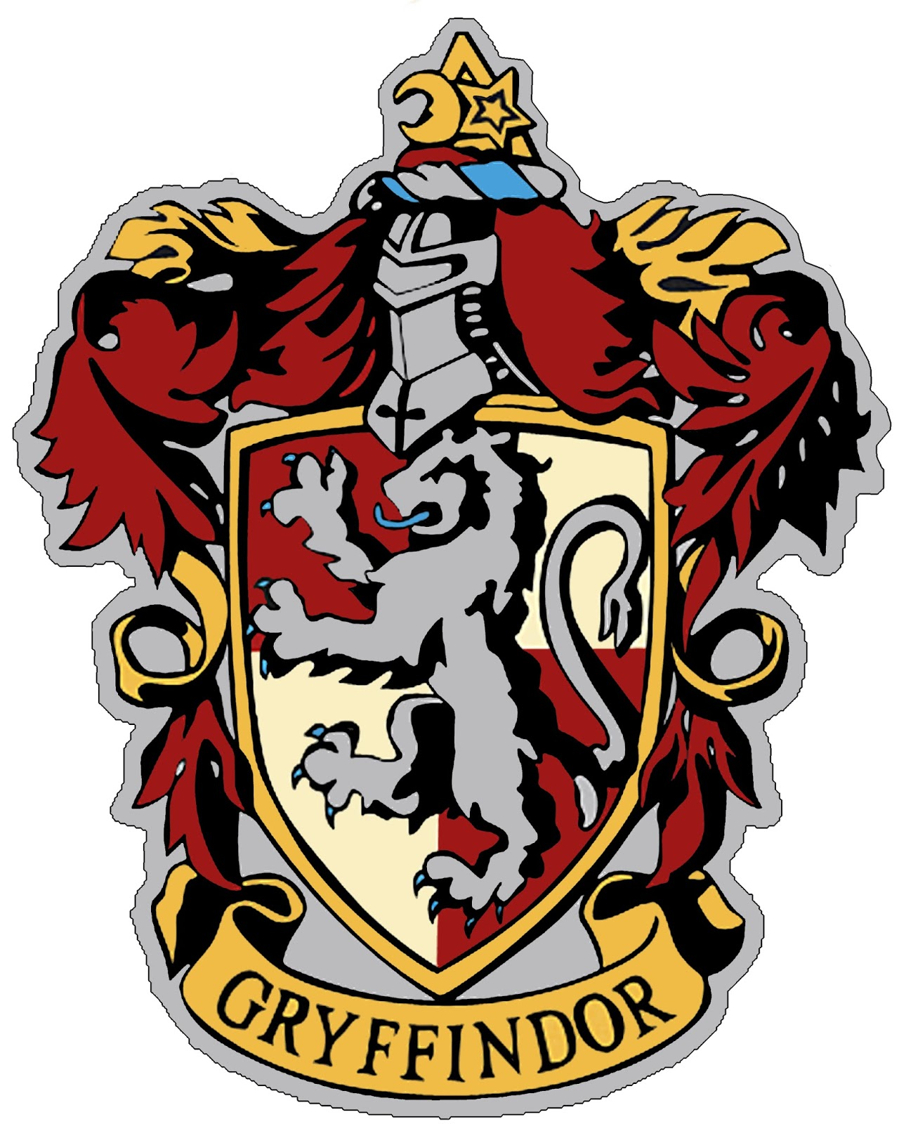 Unusual image in hogwarts crest printable