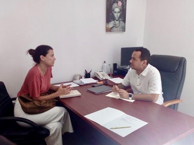 Fuerteventura.-  Pau Quiles comienza ronda de reuniones con Concejales/as Municipales de Participación Ciudadana y Nuevas Tecnologías.