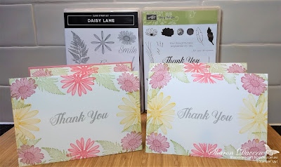 Daisy Lane, Daisy Delight, Simple Stamping, Rhapsody in craft, Art with heart