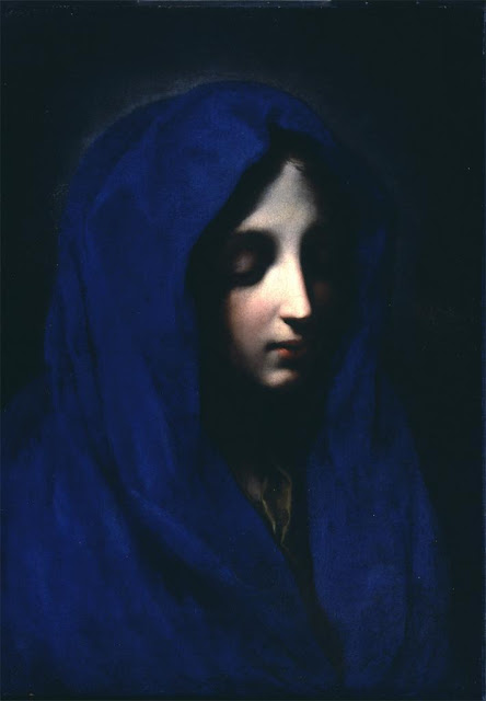 "Carlo Dolci, ""The Blue Madonna,""  17th century"