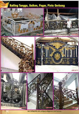 railing tempa klasik