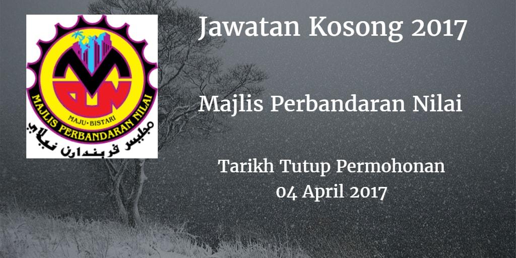 Jawatan Kosong MPN 04 April 2017
