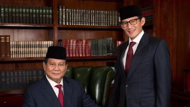 Prabowo-Sandi Ubah Visi Misi, Ini Dokumen 'Indonesia Menang' Begini Selengkapnya